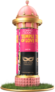 Temple of Love zuil