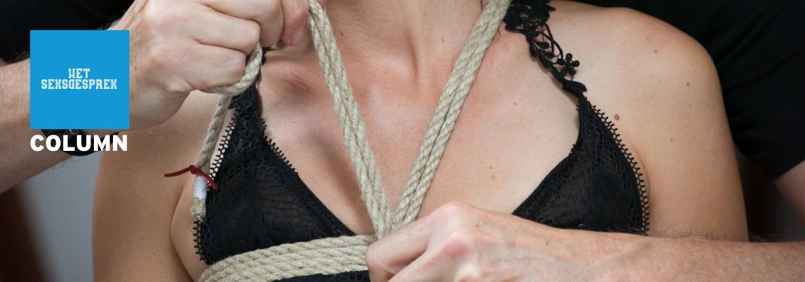 Blogpost omslag Het Seksgesprek shibari