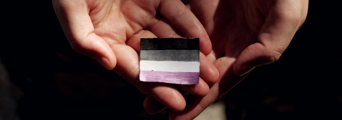 Blogpost omslag Aseksueel